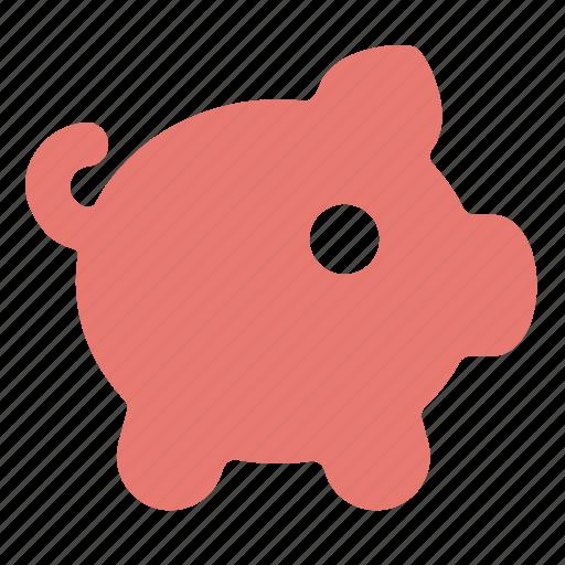 bank, cash, coin, money, piggy icon
