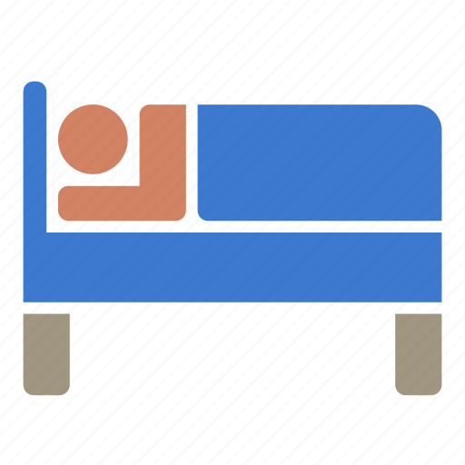 bed, bedroom, hotel, motel, rest, room, sleep icon