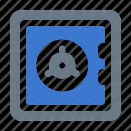 bank, banking, deposit, finance, money, safe, secure icon