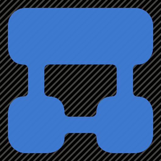 hierarchy, plan, scheme, structure icon
