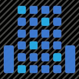 building, center, city, finance, office, skyscraper icon