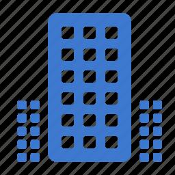 center, finance, office, skyscraper, trade icon