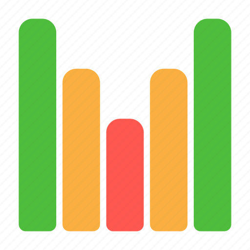 analytics, chart, graph, point, report, turning icon