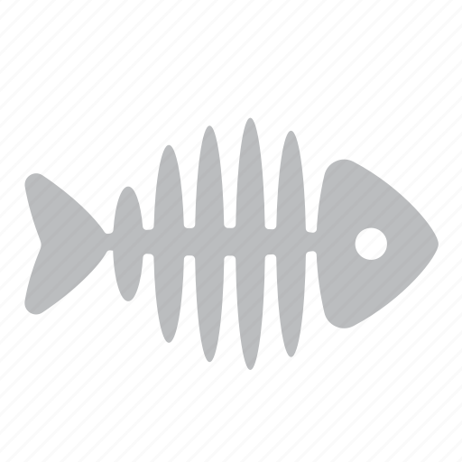 fish, fishbone, fishing, seafood icon