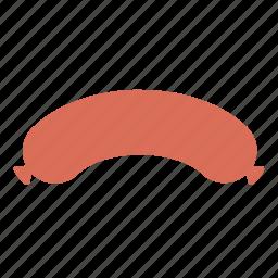 cooking, eating, food, kitchen, salami, sausage icon