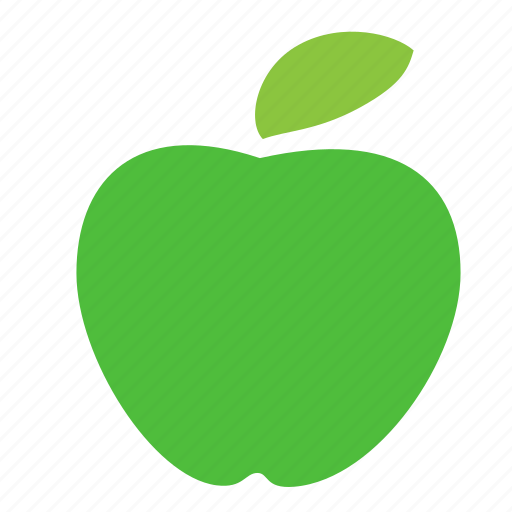 apple, food, fresh, fruit, green, sweet icon