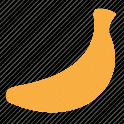 banana, food, fresh, fruit, tropical icon