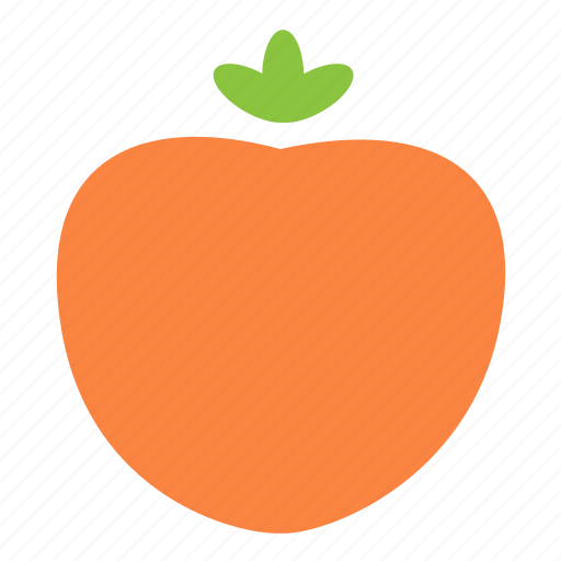 food, fresh, fruit, persimmon icon