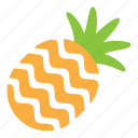 fresh, fruit, pineapple, sweet icon