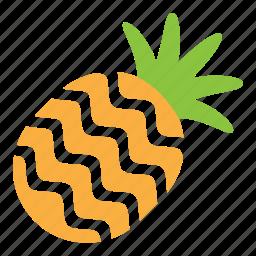 fresh, fruit, pineapple, sweet icon