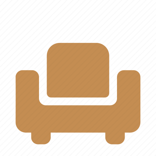armchair, chair, furniture, home, interior icon