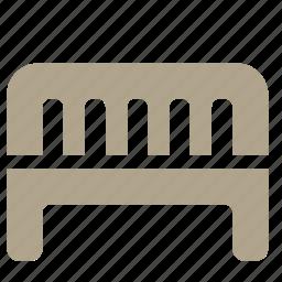 bench, city, park, street icon