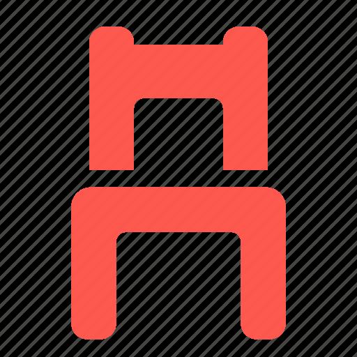 chair, furniture, home, interior icon