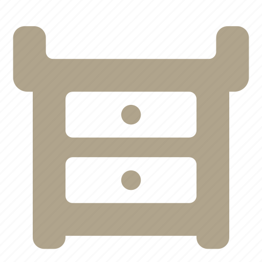 baby, changing, furniture, table icon