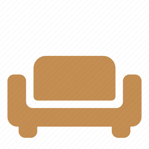 furniture, interior, lounge, sofa icon