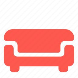 furniture, interior, lounge, sofa icon