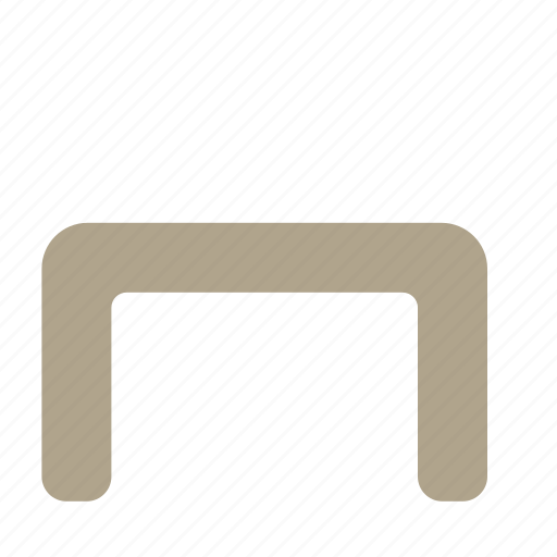 desk, furniture, interior, table icon