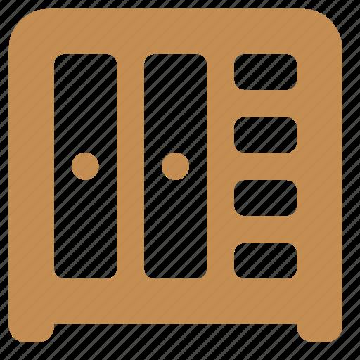 furniture, home, interior, wardrobe icon