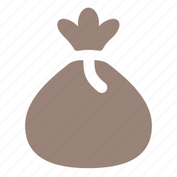 bag, bagful, mistery, money icon