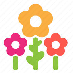 bouquet, ecology, flowers, gift, plant icon