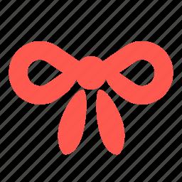 bow, gift, knot, ribbon icon