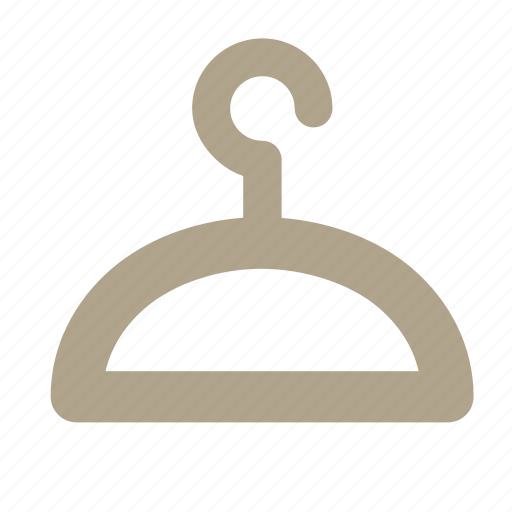clothes, hanger, hook, warderobe icon