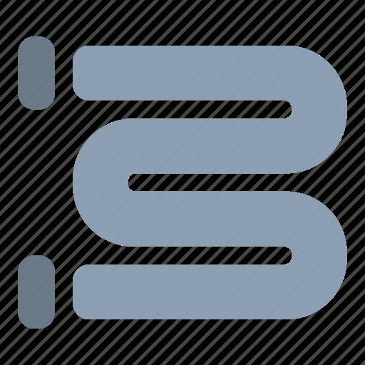 heated, radiator, rail, towel icon
