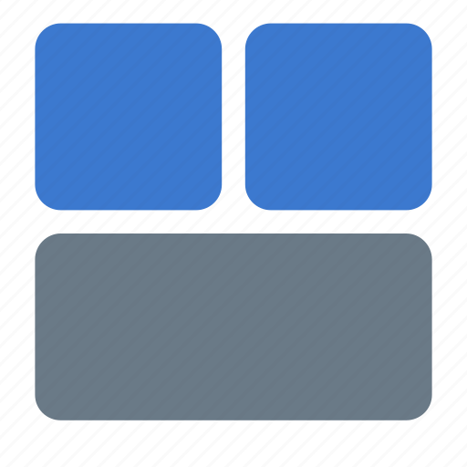 grid, layout, sections icon
