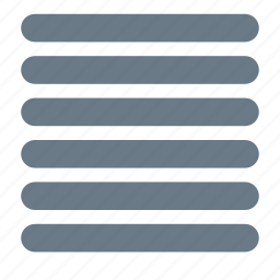 grid, layout, rows, sections icon