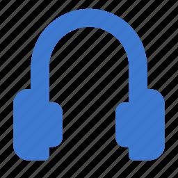 audio, headphones, media, multimedia, music, sound icon
