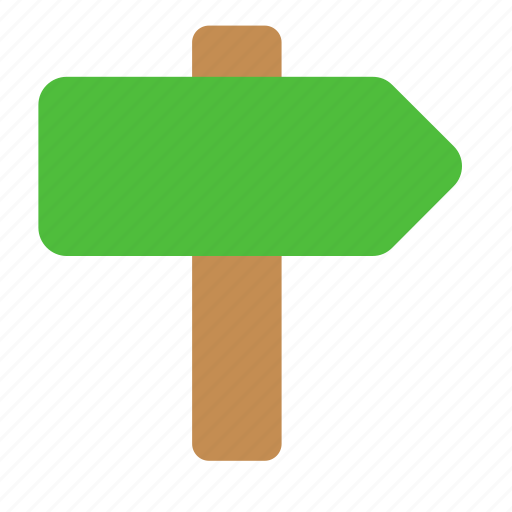 arrow, direction, index, navigation, pointer, road, sign icon