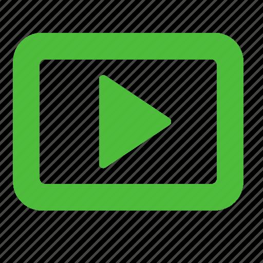 media, movie, multimedia, player, video icon