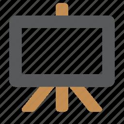 analytics, board, chart, presentation, report, slideshow icon
