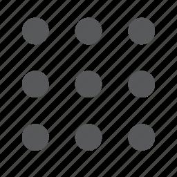 layout, matrix, preview icon