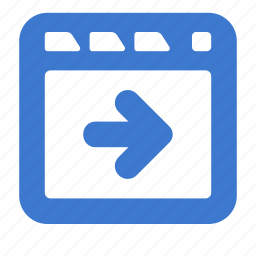 app, browser, foward, site, web, window icon