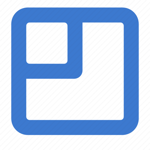grid, layout, scale, zoom icon