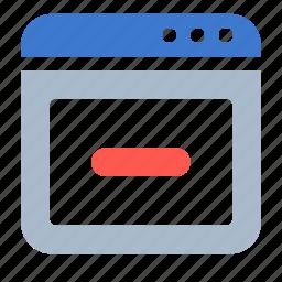 app, browser, close, web, window icon