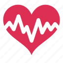 cardiogram, doctor, health, heart, medicine icon