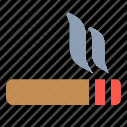 cigarette, poison, smoke, smoking, toxic icon
