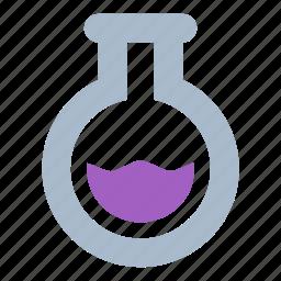 analysis, experiment, sample, test, tube icon