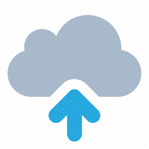 cloud, data, send, storage, upload icon