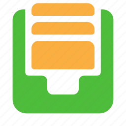archive, e-mail, email, inbox, mails, profiles icon