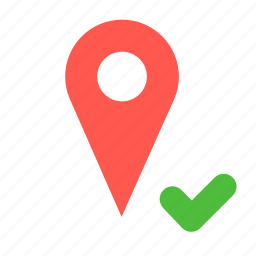 current, gps, location, navigation, pin icon