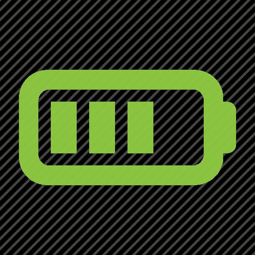 accumulator, battery, energy, power icon