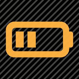 accumulator, battery, energy, multimedia, power icon