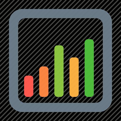 analytics, chart, forecast, report, statistics icon