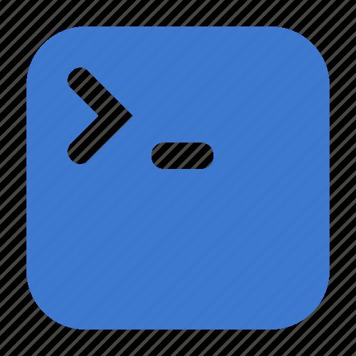app, application, terminal, window icon