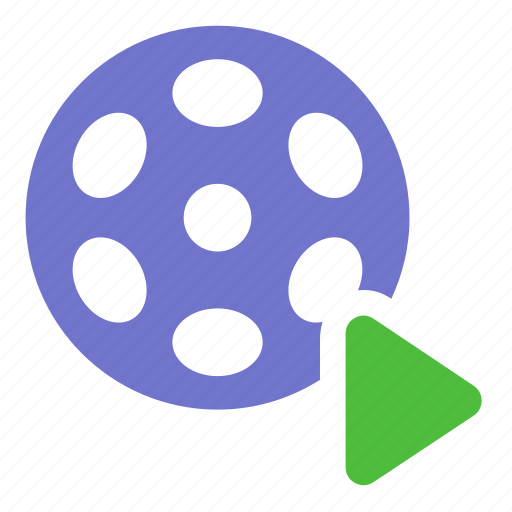 film, movie, multimedia, play, video icon
