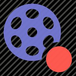 media, movie, multimedia, record, video icon