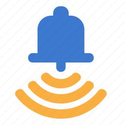 alarm, alert, bell, ring icon